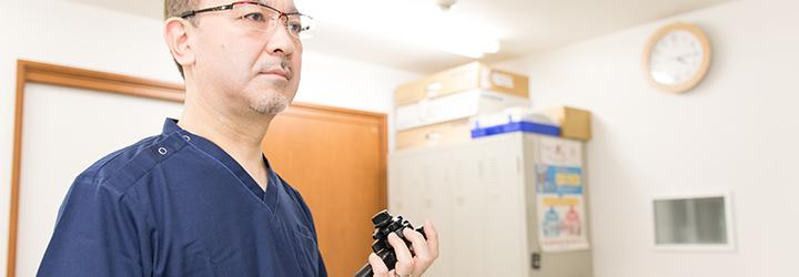 胃の内視鏡検査(胃カメラ)